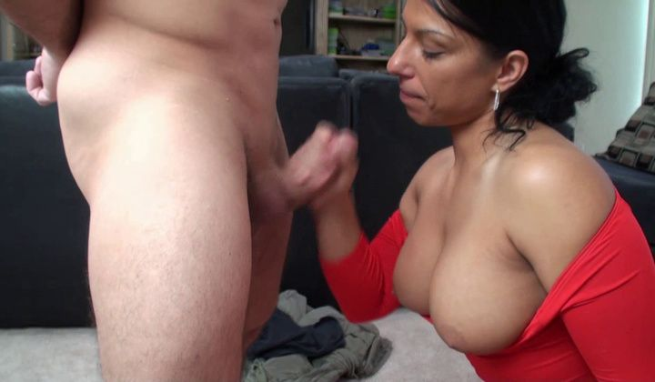 Alexis Rain 2 Facials + 1 Cum On Boobs For Mom